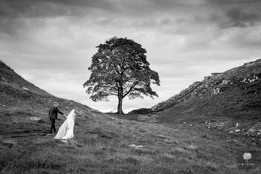 Hadrians Wall Wedding Photography